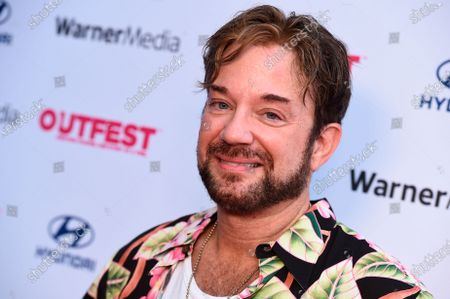 """Stock Picture of Sam Pancake attends """"The Sixth Reel"""" world premiere at Outfest LA 2021 at the Directors Guild of America, in Los Angeles"""