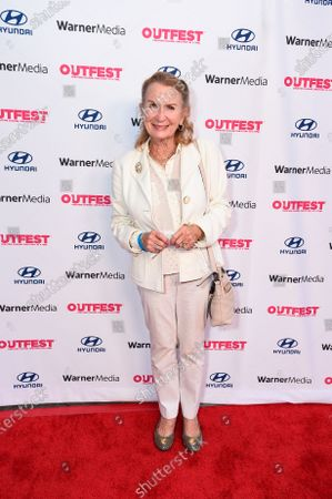 """Stock Photo of Juliet Mills attends """"The Sixth Reel"""" world premiere at Outfest LA 2021 at the Directors Guild of America, in Los Angeles"""