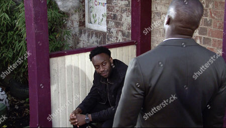 Coronation Street - Ep 10412 Wednesday 25th August 2021 - 1st Ep Ronnie Bailey, as played by Vinta Morgan, urges Michael Bailey, as played by Ryan Russell, to come clean to Grace and admit that he doesn't love her.
