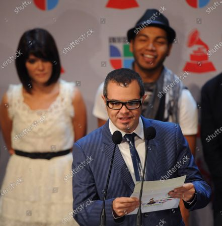 Mario Quintero-Lara announces nominations for the 11th annual Latin Grammy Awards at the Avalon in the Hollywood section of Los Angeles on September 8, 2010. The 11th Annual Latin Grammy Awards will be held on November 11, 2010 in Las Vegas, Nevada.