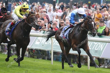 SAM COOKE and Rob Hornby Win The Sky Bet Handicap, in second Kevin Ryan trained Throne Hall ridden by Andrea Atzeni York Racecourse Trained by Ralph Beckett Owned by Chelsea Thoroughbreds Wonderful World