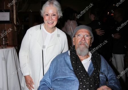 Stock Photo of Artist Chuck Close Has Passed Away.Lindy Groban, mother of Josh Groban and Chuck Close attend the Find Your Light Foundation Gala at City Winery in New York City on June 5, 2017.