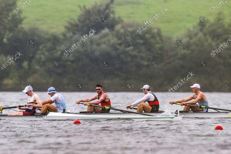 Men's Senior Fours Final. Shandon/UCC Rowing Club's Adam Murphy, Jack Dorsey, Alex Byrne and Ronan Byrne win the race