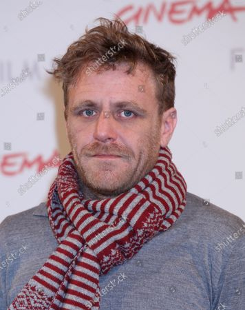 """Paul Fraser arrives at a photocall for the film """"My Brothers"""" during the 5th Rome International Film Festival in Rome on October 29, 2010."""