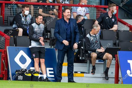 Ross County Manager Malky Mackay during the Scottish Premiership match at the Global Energy Stadium, Dingwall.