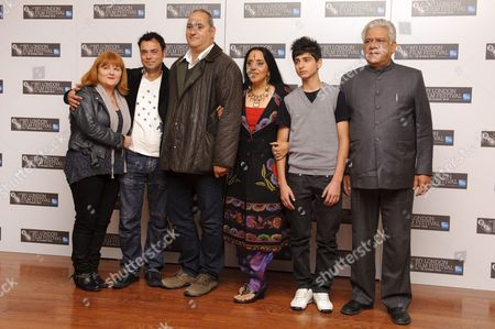 Lesley Nicol, Emil Marwa, Ayub Khan-Din, Ila Arun, Aqib Khan and Om Puri