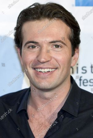Stock Photo of Canadian actor Tygh Runyan arrives at the Tribute to Directors Bruce McDonald and Monte Hellman during the 10th Anniversary, Whistler Film Festival, in Whistler Village near Vancouver, British Columbia, December 3, 2010.