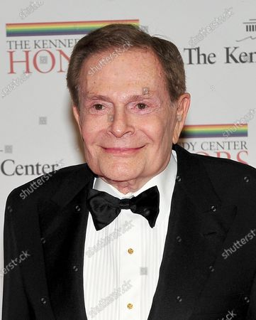 Jerry Herman, one of the 2010 Kennedy Center honorees, arrives for the 2010 Kennedy Center honorees Artist's Dinner at the United States Department of State in Washington, D.C. on Saturday, December 4, 2010.