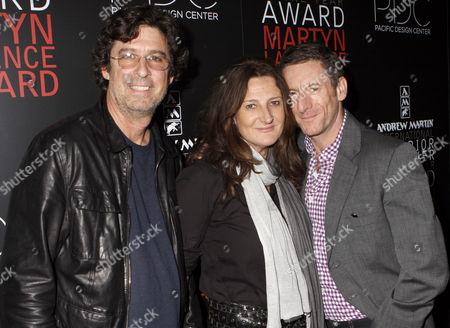 Stock Photo of Stephen Block, Kathryn Ireland and Peter Dunham