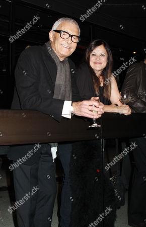 Vidal Sassoon and Ronnie Sassoon