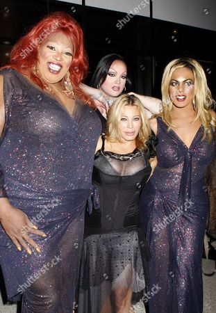 Lady Red Couture, Miss Conception, Taylor Dayne and Roxy Wood