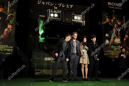 Editorial image of Japan Asia Film Green Hornet, Tokyo - 20 Jan 2011