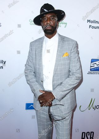 Actor J. B. Smoove arrives at the 21st Annual Harold and Carole Pump Foundation Gala held at The Beverly Hilton Hotel on August 20, 2021 in Beverly Hills, Los Angeles, California, United States.