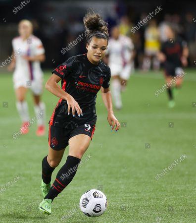 Sophia Smith of the Portland Thorns FC