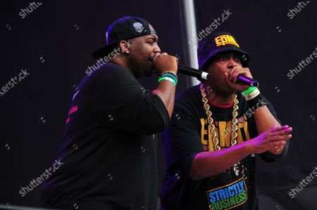 EPMD at It's Time for Hip Hop in NYC: Queens at Forest Hills Stadium in Queens, New York City on August 20, 2021.