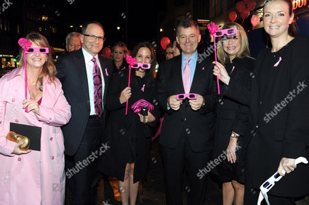 Editorial image of Breast Cancer Awareness month launch reception at Harrods, London, Britain - 19 Oct 2010