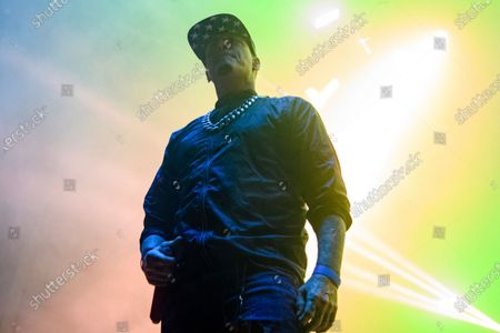 Vanilla Ice performs at the 2021 Gathering of the Juggalos on at Legend Valley in Thornville, OH