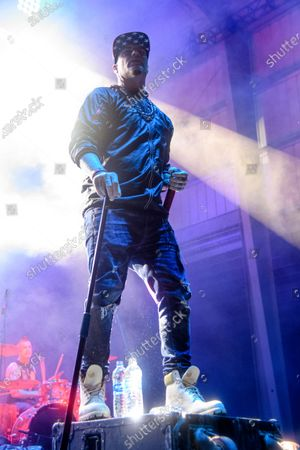 Stock Photo of Vanilla Ice performs at the 2021 Gathering of the Juggalos on at Legend Valley in Thornville, OH