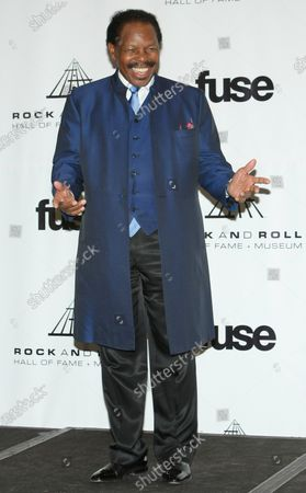 Lloyd Price attends the Rock and Roll Hall of Fame induction ceremony held at the Waldorf-Astoria hotel in New York on March 14, 2011.