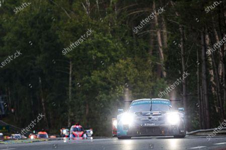 Stock Image of 88 Andlauer Julien (fra), Bastien Dominique (usa), Arnold Lance David (ger), Dempsey-Proton Racing, Porsche 911 RSR - 19, action