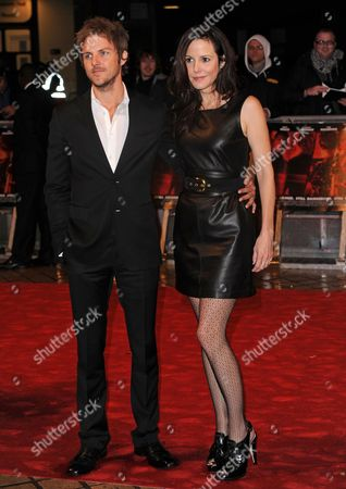 Stock Image of Charlie Mars and Mary-Louise Parker