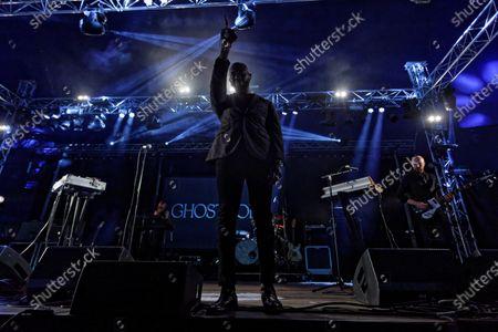 Obaro Ejimiwe aka Ghostpoet performs at the Far Out stage