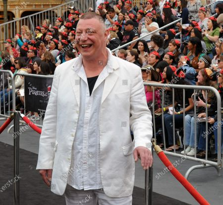 """Ian Mercer, a cast member in the motion picture fantasy """"Pirates of the Caribbean: On Stranger Tides"""", attends the premiere of the film at Disneyland in Anaheim, California on May 7, 2011."""