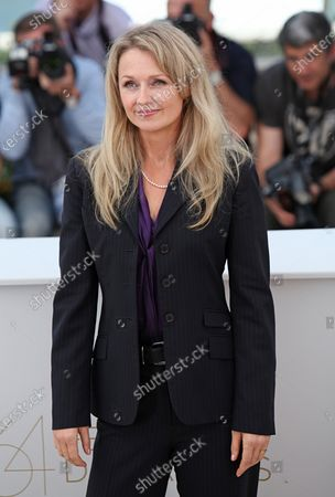 """Stock Photo of Rachael Blake arrives at a photocall for the film """"Sleeping Beauty"""" during the 64th annual Cannes International Film Festival in Cannes, France on May 12, 2011."""