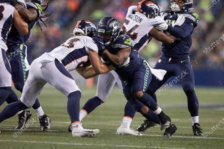 Editorial photo of Broncos Seahawks Football, Seattle, United States - 21 Aug 2021