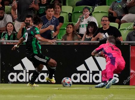 Editorial picture of MLS Timbers FC Soccer, Austin, United States - 21 Aug 2021