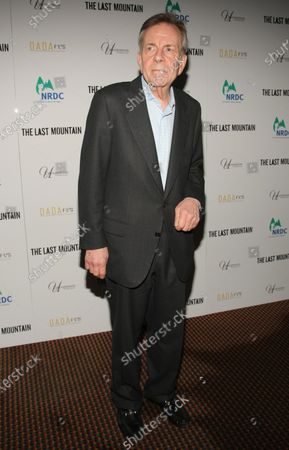 """Bob Jamieson arrives for the premiere of """"The Last Mountain"""" at  Cinema 1, 2 & 3 on May 25, 2011 in New York City."""