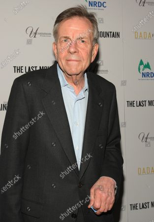 """Stock Picture of Bob Jamieson arrives for the premiere of """"The Last Mountain"""" at  Cinema 1, 2 & 3 on May 25, 2011 in New York City."""