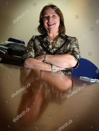 Editorial image of Angela Knight, Chief Executive of the British Bankers Association, at her office in London, Britain - 01 Oct 2010