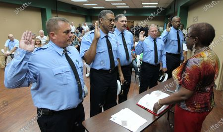 Editorial image of New promotions at St. Louis Fire Department, Missouri, United States - 03 Aug 2011