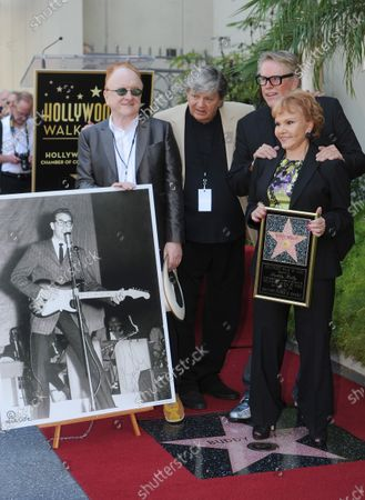 Editorial image of Walk of Fame Star, Los Angeles, California, United States - 07 Sep 2011