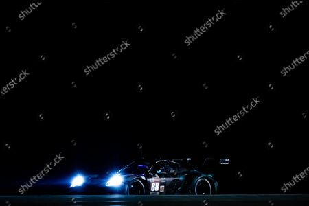 Editorial photo of Endurance 24 Hours of Le Mans 2021, 4th round of the 2021 FIA World Endurance Championship, WEC, Le Mans, France - 22 Aug 2021