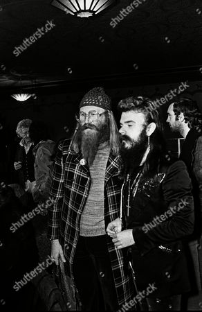 Stock Photo of Performance of The Who's 'Tommy' at the Rainbow Theatre - Vivian Stanshall and Roy Wood