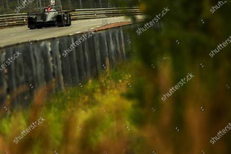 CIRCUIT DE LA SARTHE, FRANCE - AUGUST 22: #28 JOTA Oreca 07 - Gibson LMP2 of Sean Gelael, Stoffel Vandoorne, Tom Blomqvist during the 24 Hours of Le Mans at the Circuit de la Sarthe on August 22, 2021 in Le Mans, France. (Photo by LAT Images)
