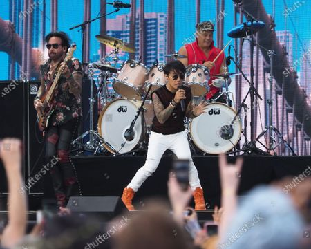 Stock Image of Arnel Pineda of Journey perform onstage during We Love NYC: The Homecoming Concert Produced by NYC, Clive Davis, and Live Nation