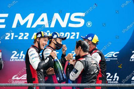 Editorial photo of Le Mans 2021: 24 Hours of Le Mans, Circuit de la Sarthe, France - 22 Aug 2021