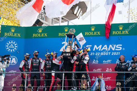 Editorial image of Le Mans 2021: 24 Hours of Le Mans, Circuit de la Sarthe, France - 22 Aug 2021