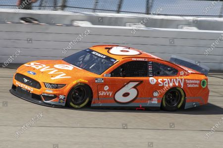 MICHIGAN INTERNATIONAL SPEEDWAY, UNITED STATES OF AMERICA - AUGUST 22: #6: Ryan Newman, Roush Fenway Racing, Ford Mustang ITsavvy at Michigan International Speedway on Sunday August 22, 2021 in Brooklyn, United States of America. (Photo by LAT Images)