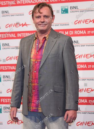 """Stephan Elliott arrives at a photocall for the film """"A Few Best Men"""" during the 6th Rome International Film Festival in Rome on October 28, 2011."""