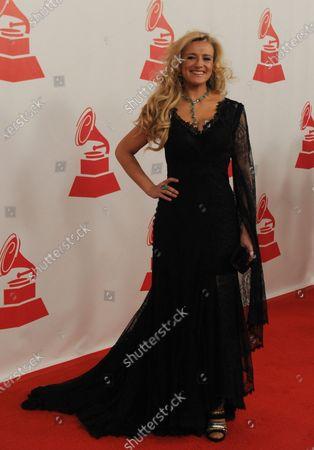 Patricia Cobos arrives at the Latin Grammy Person of the Year Award at the Mandalay Bay in Las Vegas on November 9, 2011.