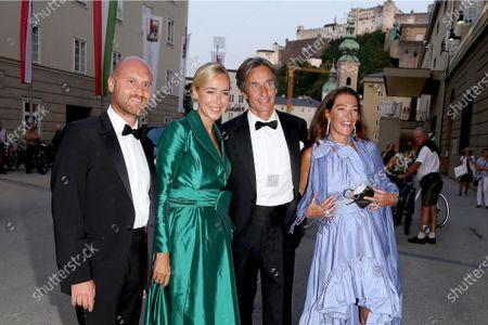 Editorial image of Premiere Tosca, Salzburger Festspiele 2021, Munich, Germany - 21 Aug 2021