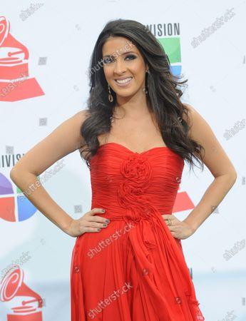 Editorial photo of Latin Grammy Awards, Las Vegas, Nevada, United States - 10 Nov 2011