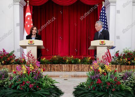 Editorial photo of US Harris, Singapore, Singapore - 16 Jun 2021