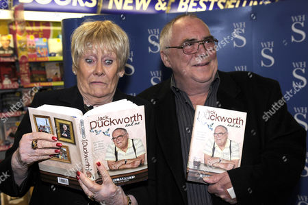 Editorial photo of Bill Tarmey promotes his book 'Jack Duckworth and Me', WHSmith, Manchester, Britain - 20 Oct 2010