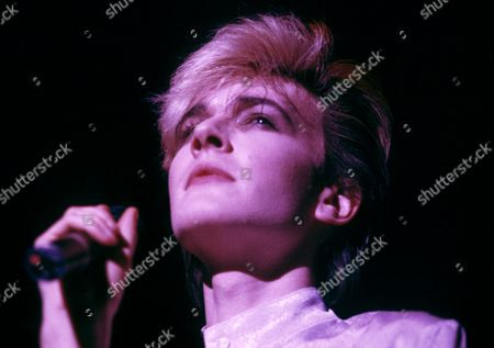 Japan in concert at the Hammersmith Odeon, London - David Sylvian