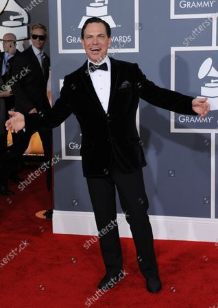 Kurt Elling arrives at the 54th annual Grammy Awards at the Staples Center in Los Angeles on February 12, 2012.